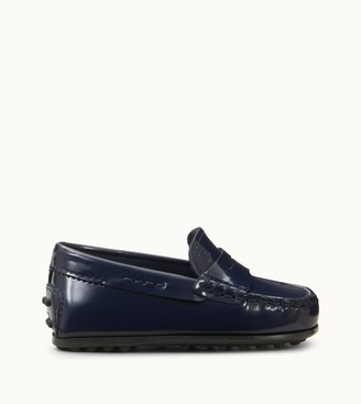 Tod's Junior City Gommino Loafers in Leather