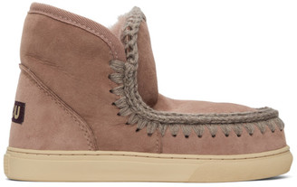 Mou Pink Sneaker Boots