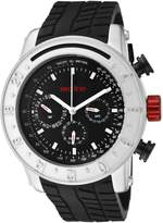 Redline Red Line Men's Compressor Silver Dial Silicone Watch RL-18000-01