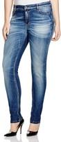 Marina Rinaldi Plus Igloo Slim Fit Jeans in Sky Blue