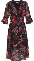 Gina Bacconi Marilene Chiffon Dress