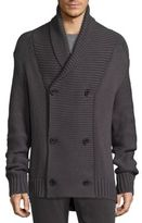 Vince Double-Breasted Cardigan