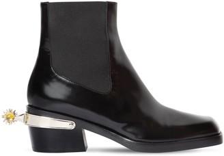 Nodaleto 55mm Western Bulla Leather Boots