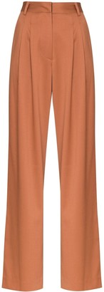 Low Classic wide-leg tailored trousers