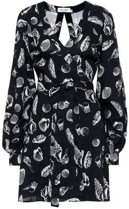 The Upside Kate shell-print minidress