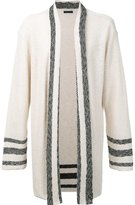 OSKLEN russtic oversized cardigan - men - Cotton/Acrylic/Polyamide - M