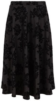 Nougat Lismore Devore Skirt