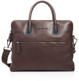 Salvatore Ferragamo Antiqued Icaro Briefcase