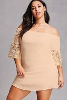 Forever 21 FOREVER 21+ Plus Size Smocked Dress