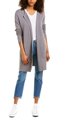 Forte Cashmere Double Knit Cardigan