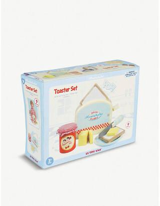 Le Toy Van Wooden toaster toy set