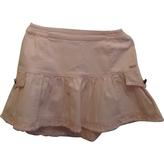 Christian Dior Pink Cotton Skirt