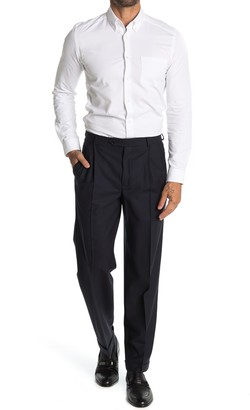 Brooks Brothers Navy Solid Pleated Madison Fit Suit Separates Pants