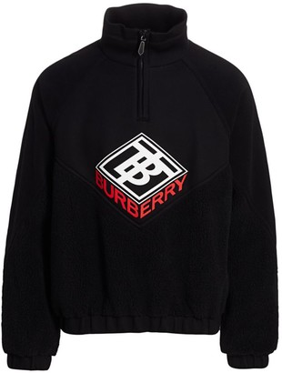 Burberry TB Logo Quarter Zip Pullover