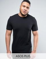 Asos PLUS Muscle T-Shirt In Black