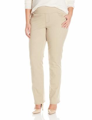 Jag Jeans Women's Plus-Size WM Peri Straight Twill