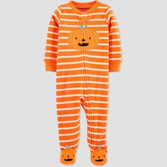 Just One You Made By Carter's Baby Pumpkin Fleece One Piece Pajama - Just One You® made by carter's