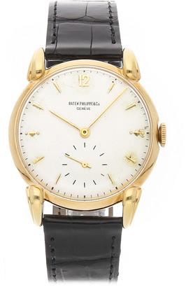 Patek Philippe Men's Leather Watch
