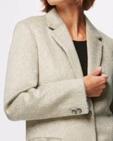 Jigsaw Single Breasted City Wool Coat