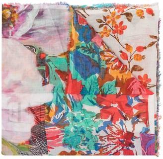 Faliero Sarti Passione floral scarf