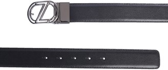 Ermenegildo Zegna Reversible Logo Belt
