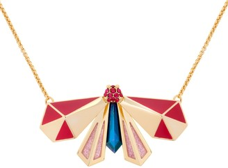 All We Are Atlas Pyramid Pendant - Berry