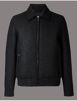 Autograph Wool Blend Jacket