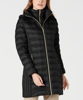 Michael Kors Michael Hooded Packable Down Puffer Coat, Created for Macy's