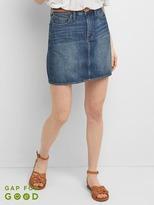 TENCEL mini pencil skirt