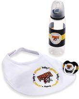 Baby Fanatic MLB Pittsburgh Pirates Baby Essentials Gift Set