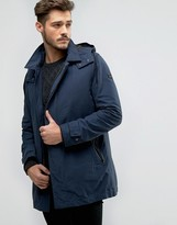 BOSS ORANGE by Hugo Boss Parka Jacket Detachable Quilt Vest and Hood