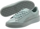 Puma Basket Platform Patent Women's Sneakers