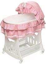 Badger Basket Ruffled Portable Bassinet