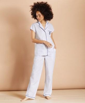 Brooks Brothers Striped Supima Cotton Poplin Pajamas