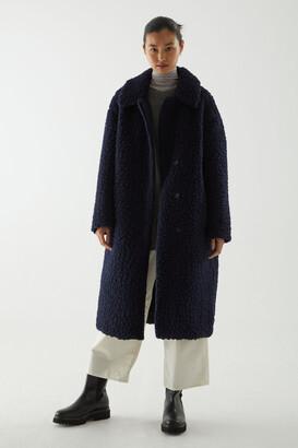 Cos Wool Teddy Fleece Coat