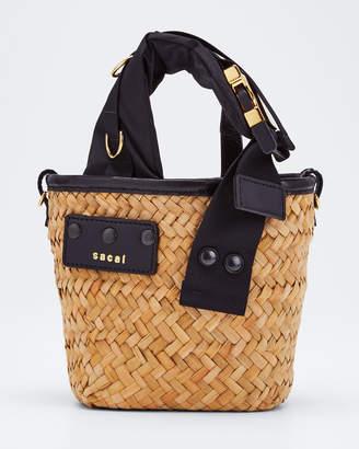 Sacai Hybrid Marche Micro Bag