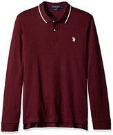 U.S. Polo Assn. Men's Long Sleeve Cotton Interlock Shirt