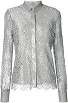Mantu layered lace shirt