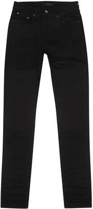 Amiri Stack Black Skinny Jeans