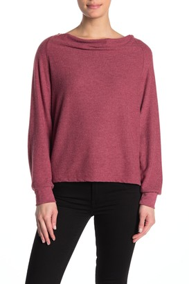 PST by Project Social T Elm Cowl Neck Pullover