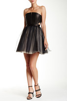 Alice + Olivia Kylie Strapless Bell Dress