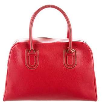 Delvaux Leather Handle Bag