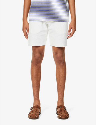 Orlebar Brown Afador Beach drawstring-waistband terry cotton shorts
