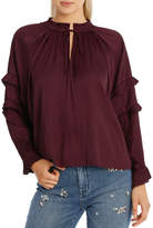 Bruised Polyester Top