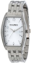 Haurex Italy Women's XS386DSS Ninfea Tonneau Stainless Steel Crystals Dial Watch