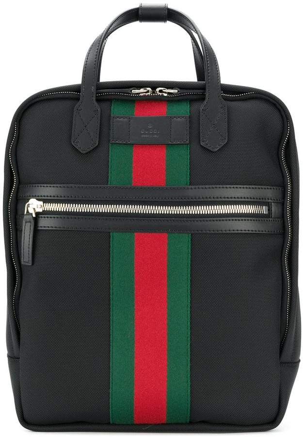 Gucci Web embellished backpack