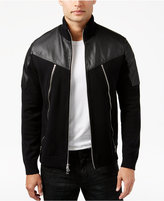 INC International Concepts Men's Mixed-Media Bomber Jacket, Only at Macy's