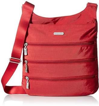 Baggallini Big Zipper Travel Crossbody Bag