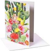 Matthew Williamson Pack of 6 Cactus Flower Print Greeting Cards
