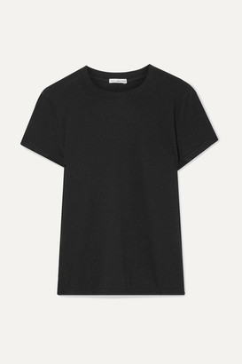 James Perse Vintage Boy Cotton-jersey T-shirt - Black